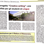 Creative Writing su Ateneapoli